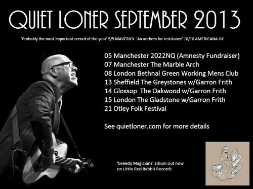 Quiet Loner September 2013