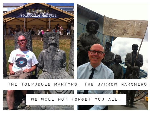 Tolpuddle to Jarrow